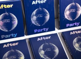 AFTER PARTY is a book about discotheques around France, designed by Jeff PAG and edited by Headbanger publishing