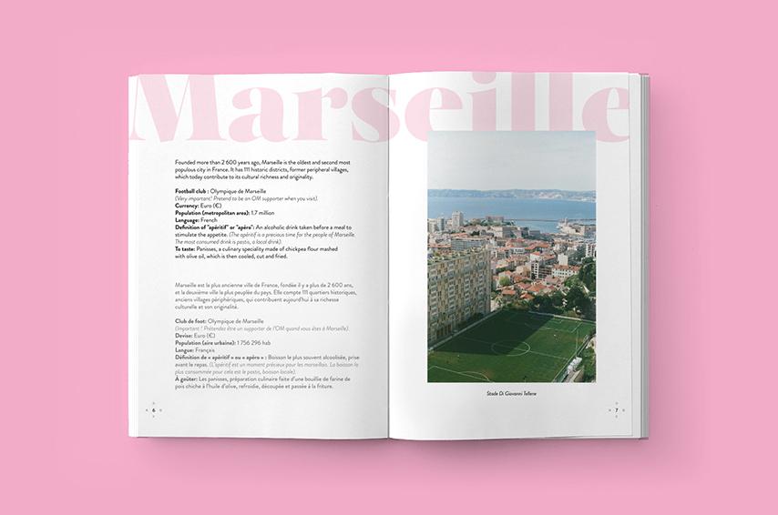 AWA a week abroad Marseille